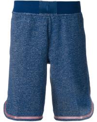 Short en coton bleu Nike
