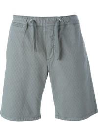 Short en coton gris Eleventy