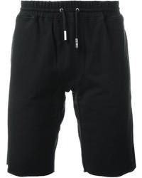 Short en coton noir Eleventy