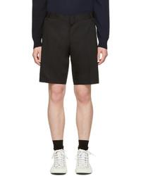 Short en coton noir Lanvin