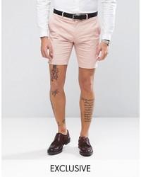Short en coton rose ONLY & SONS