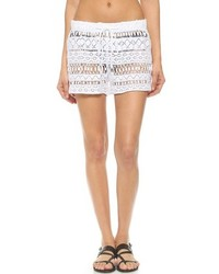 Short en crochet blanc Milly