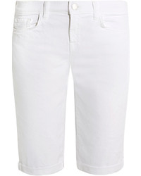 Short en denim blanc J Brand