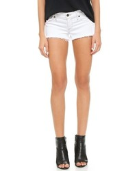 Short en denim blanc True Religion