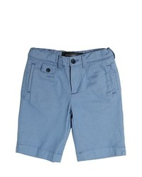 Short en denim bleu clair