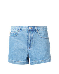Short en denim bleu clair A.P.C.