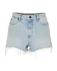 Short en denim bleu clair Alexander Wang