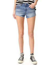 Short en denim bleu clair Levi's