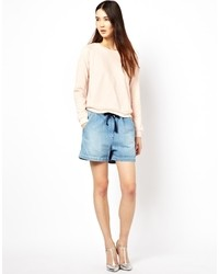 Short en denim bleu clair See by Chloe