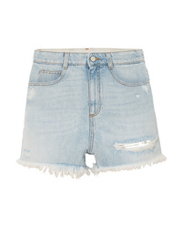 Short en denim bleu clair Stella McCartney