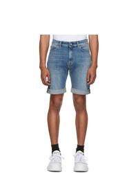 Short en denim bleu clair Tiger of Sweden Jeans