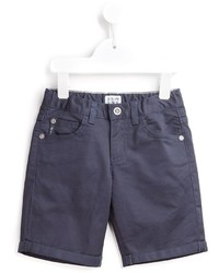 Short en denim bleu marine Armani Junior