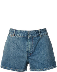 Short en denim bleu A.P.C.