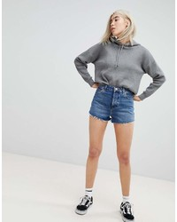 Short en denim bleu Asos