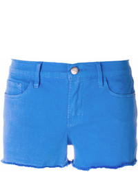 Short en denim bleu Frame