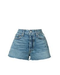 Short en denim bleu Grlfrnd
