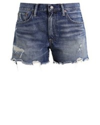 Short en denim bleu Ralph Lauren
