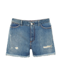 Short en denim bleu Stella McCartney