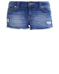 Short en denim bleu True Religion