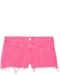 Short en denim fuchsia J Brand