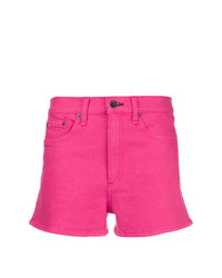 Short en denim fuchsia Rag & Bone