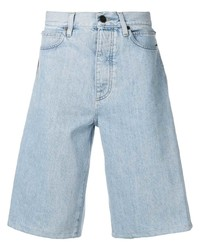 Short en denim imprimé bleu clair Calvin Klein Jeans Est. 1978