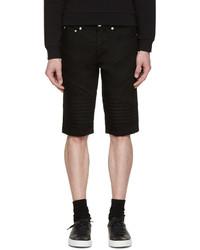Short en denim noir Givenchy