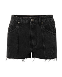 Short en denim noir Givenchy