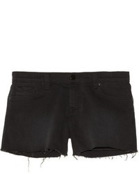 Short en denim noir J Brand