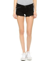 Short en denim noir True Religion