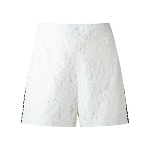 well known first rate catch €591, Short en dentelle blanc Martha Medeiros