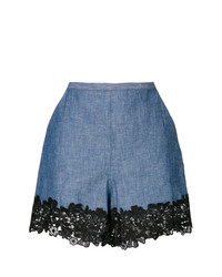 Short en dentelle bleu See by Chloe