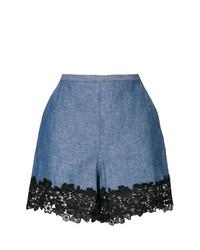 Short en dentelle bleu See by Chloe
