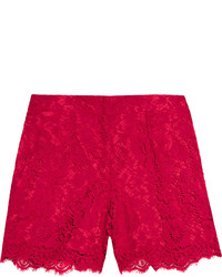 Short en dentelle rouge Dolce & Gabbana