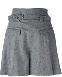 Short en laine gris Diane von Furstenberg