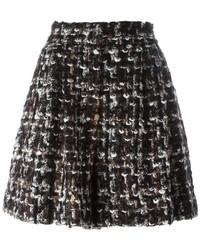 Short en laine marron foncé Dolce & Gabbana