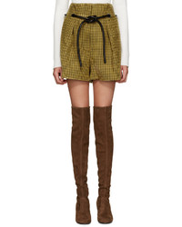 Short en laine moutarde 3.1 Phillip Lim