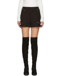 Short en laine noir 3.1 Phillip Lim