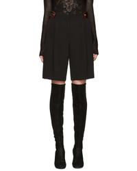 Short en laine noir Givenchy