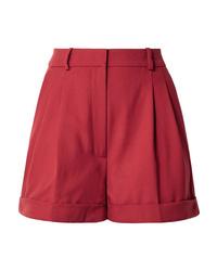 Short en laine rouge Racil