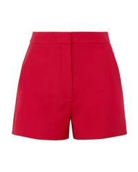 Short en laine rouge Valentino