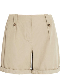 Short en lin beige Burberry