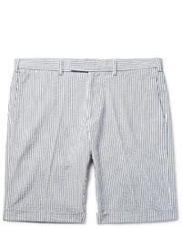 Short en seersucker gris Gant