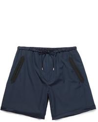 Short en soie bleu marine Gucci