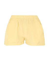 Short en soie jaune Matin