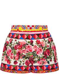 Short imprimé fuchsia Dolce & Gabbana