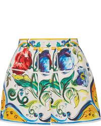 Short imprimé jaune Dolce & Gabbana