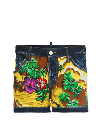 Short imprimé multicolore Dsquared2