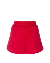 Short imprimé rouge MSGM