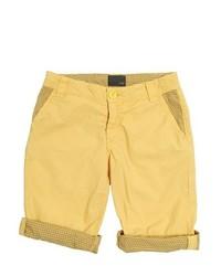 Short jaune